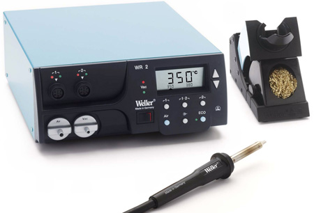 Weller WR2000 Digital Self-Contained 2 Channel Rework Station w/HAP 1 Hot Air Pencil