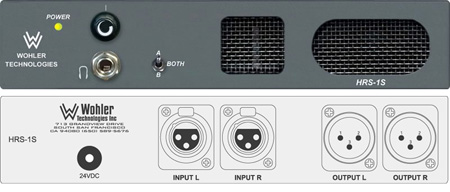 Wohler HRS-1S Ultra Compact Full Range Mono Self-Pwrd Speaker Sys-1 Stereo Input