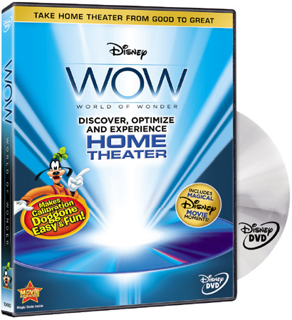 Disney WOW World of Wonder The Ultimate Calibration DVD (Single Disc)