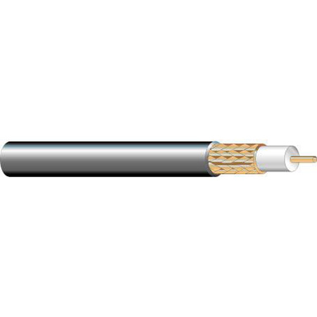 West Penn 25825 25 Awg MiniMax CCTV Coaxial Cable 1000 ft.