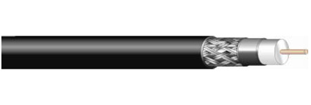West Penn 821 14 AWG RG11/U Type CATV Coaxial Cable 1000 Ft.