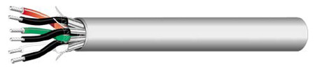 West Penn D430 2pr Communication and Control Cable - Grey