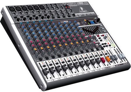 Behringer X1832USB XENYX 18-Input 3/2-Bus Mixer With XENYX Mic Preamps