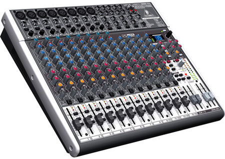 Behringer X2222USB XENYX 22-Input 2/2-Bus Mixer With XENYX Mic Preamps