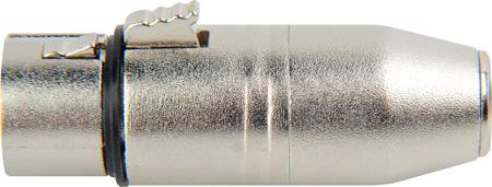 Connectronics Premium XLR Female To Mini XLR Male Audio Adapter