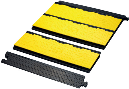 Yellow Jacket Advanced Modular System Center Floor & 2 Ramps - 3 Foot