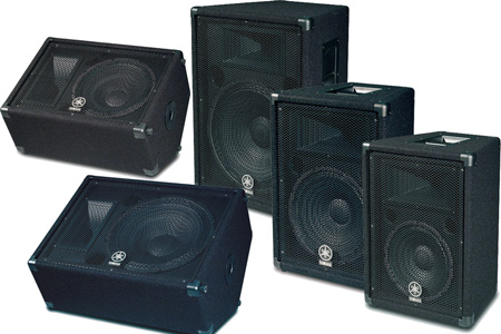 Yamaha BR12M 12 Inch 600W 2-Way Bass Reflex Floor Monitor - Each