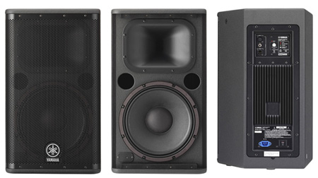 Yamaha DSR112 850-watt 12 Inch Powered Speaker