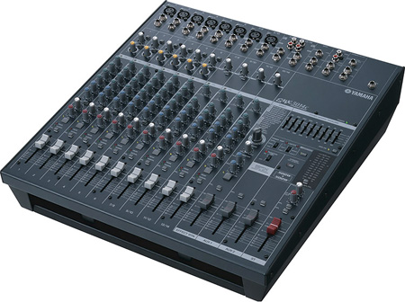 Yamaha EMX5014C 14 Input Stereo Powered Mixer 500 Watt