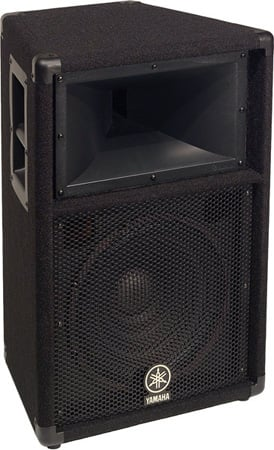 Yamaha S112V Carpeted 12-Inch 2-Way Loudspeaker System