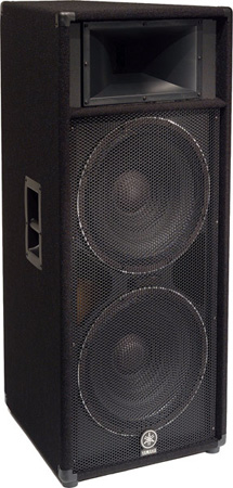 Yamaha S215V Carpeted Dual 15-Inch 2-Way Loudspeaker