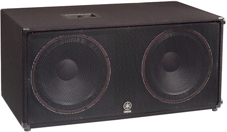 Yamaha SW218V Carpeted Dual 18-Inch Subwoofer