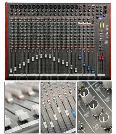Allen & Heath ZED-24 24 Into 2 Live Recording Mixer With USB I/O