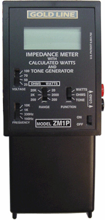 Goldline Impedance Meter Plus Protection Relay