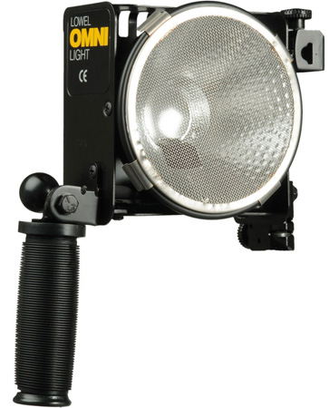 Lowel O1-10 Omni Light 500-Watt Variable Focus Location Light