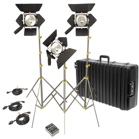Lowel  Action Kit with 3 Omni Lights and Soft Carry Case