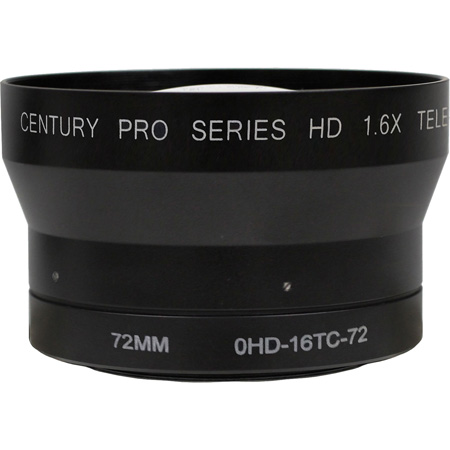 Century Precision Optics 0HD-16TC-72 1.6X Tele-Conv HD 72mm Thread