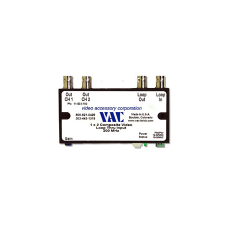 VAC 11-533-102 1x2 Composite Video DA