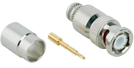 Amphenol 112627 50 Ohm BNC Coaxial Connector