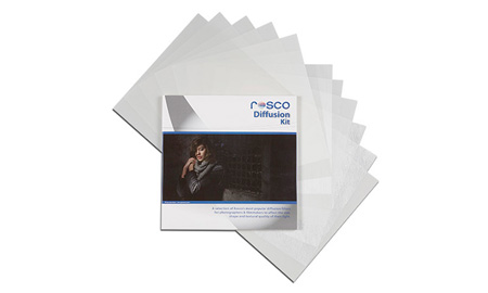Rosco 110120120001 Diffusion Filter Kit 15 pieces 12in x 12in
