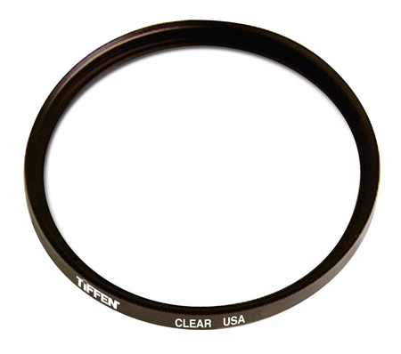 Tiffen 127CLRUN 127mm Clear Uncoated Filter
