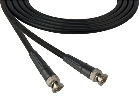 Belden 1505A SDI-HDTV RG59 BNC Cable - 18In. Blue