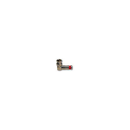 Platinum Tools 18035RA Right Angle BNC Connector for RG6 Quad Cable