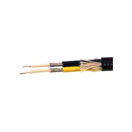 BELDEN 1808A - Coax - High-Flex S-Video Cable -  per ft - Black