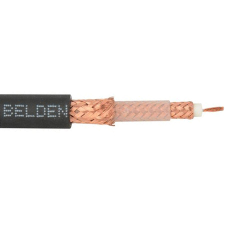 Belden 1858A Coax - RG-11/U Type Triaxial Cable - Per Foot