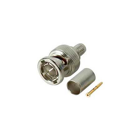 Kings 2065-12-9 75 Ohm BNC Plug for Belden 7855A