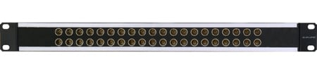 Canare 24DVS 2X24 1RU 75 Ohm Digital Video Patchbay (Straight Through)