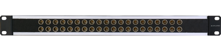 Canare 244U-DVJBS 6X24 4RU 75 Ohm Digital Video Patch Bay (Straight Through)