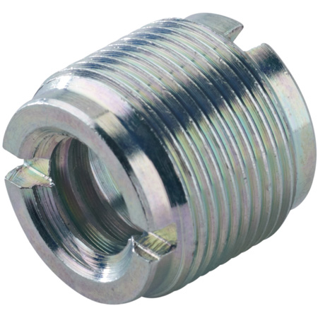 1/2 and 3/8 Female to 5/8-27 - European to US Mic Thread Adapter