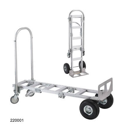 Wesco 220001 Spartan Senior Convertible Production Cart & Hand Truck