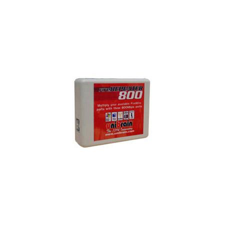 Unibrain 2501 FireRepeater 800 3 Port FireWire Pocket-size Hub