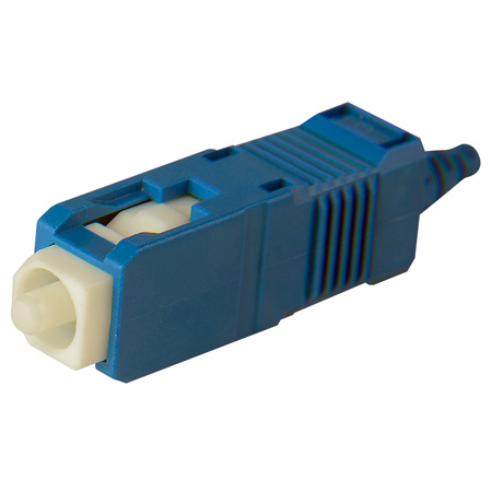 Senko 254-193-6J1 UPC Premium 125um Single Mode 900um SC Connector - Blue Boot