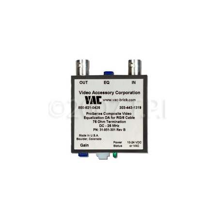 VAC 31-951-301 Line Driver w/Gain & Equalization RG6 Cable