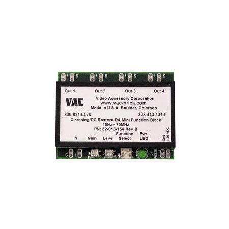 VAC 32-013-154 1X4 Composite Video DA