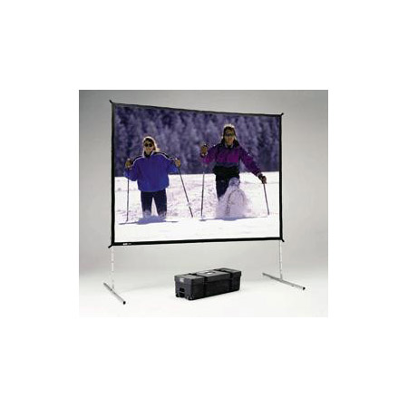 Da-Lite 35341HD Fast-Fold Deluxe Projection Screen (10 x 10ft) Heavy Duty Legs