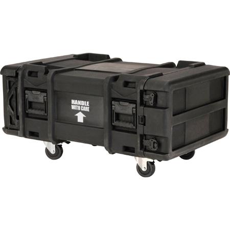 SKB 3SKB-R904U30 30 Inch Deep x 4RU Roto-Mold Shock Rack