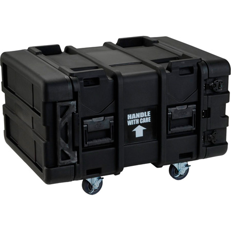 SKB R904U24 24 Inch Deep x 4RU Roto-Mold Shock Rack