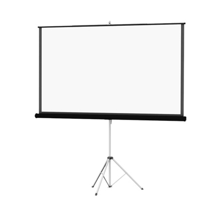 Da-Lite 40141 Picture King 84x84 Matte White Tripod Projection Screen