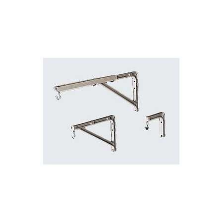 Da-Lite 40933 14.5-24 Inch Projection Screen Wall Brackets Pair