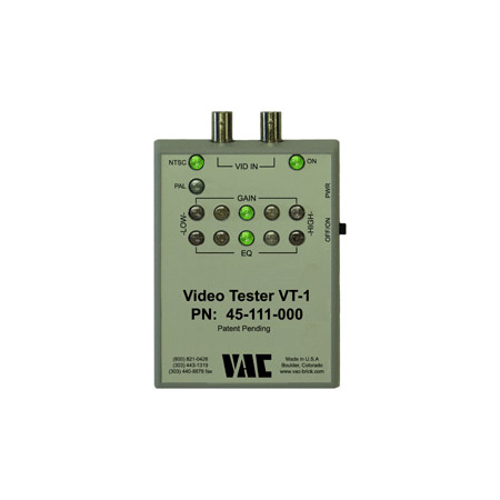 VAC 45-111-000 VT-1 Video Tester for Gain and EQ