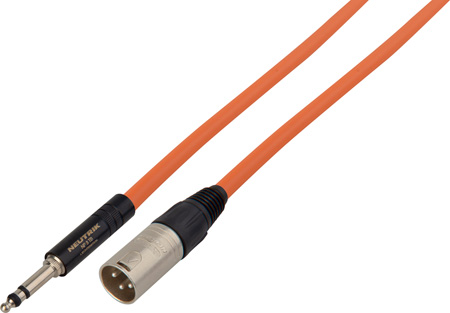 NP3TB Weco Type to XLR Male Patch Cable 4 Foot