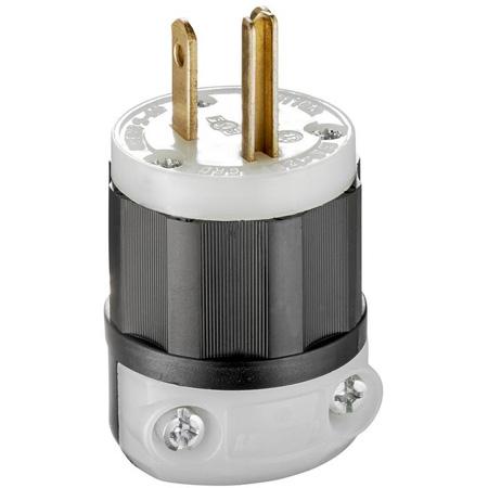 Leviton 5266C AC Plug Cable-end 15 Amp