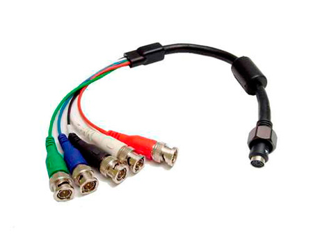 5 Male BNC Pigtail for EZ-2 Install Cable