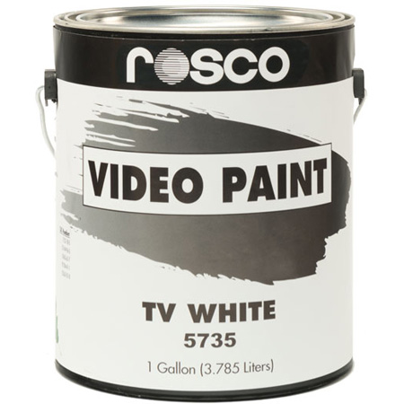 Rosco TV Paint Black 1 Gallon