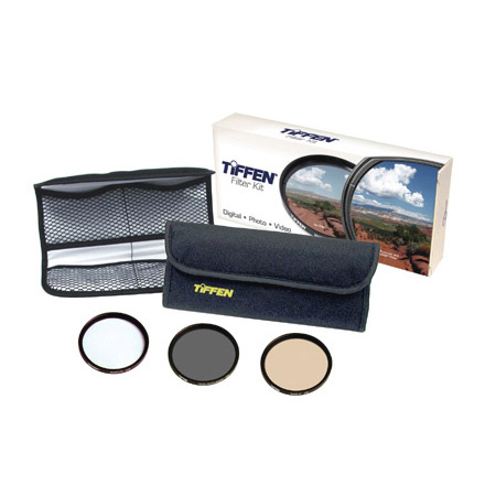 Tiffen 58DIGEK3 Digital Essentials Filter Kit