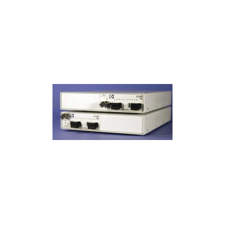 Link Bridge 6108E-TRX-S-FC-W35 Transceiver 8 Audio Multiplexer Singlemode - FC 1310nm WDM One Fibers